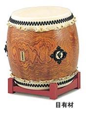 【受注生産品】【送料無料】 SUZUKI 《スズキ》 長胴太鼓 目有材製 1尺3寸(39cm)