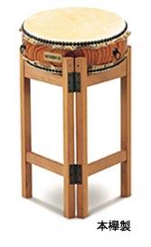 【受注生産品】SUZUKI 《スズキ》 平太鼓 本欅製 1寸2尺