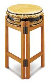 【受注生産品】 【送料無料】 SUZUKI 《スズキ》 平太鼓 目有合板 1尺3寸