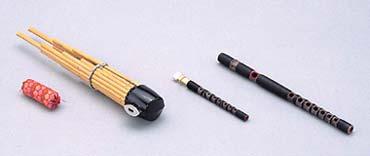 【受注生産品】【送料無料】 SUZUKI 《スズキ》 雅楽(左方楽用管楽器)セット