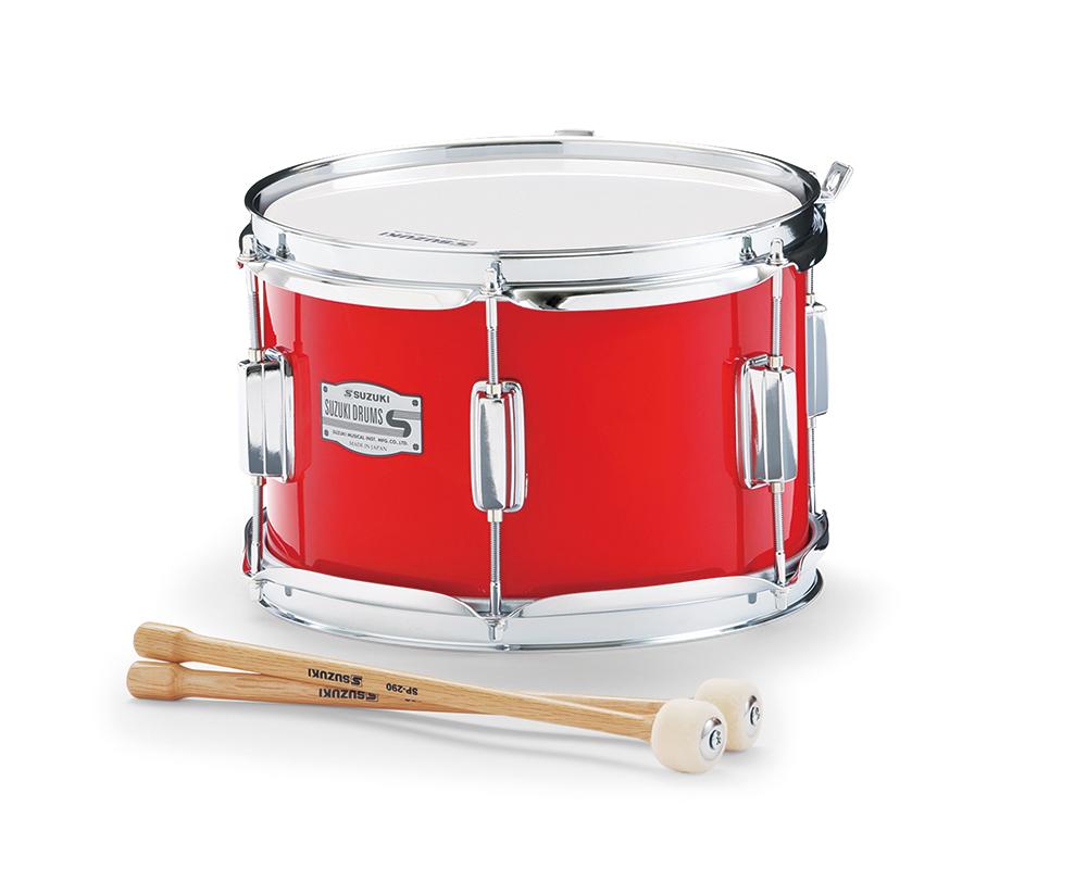 SUZUKI 《スズキ》 マーチングドラム(木胴) テナー SKT-10C [鈴木楽器販売][SKT10C]