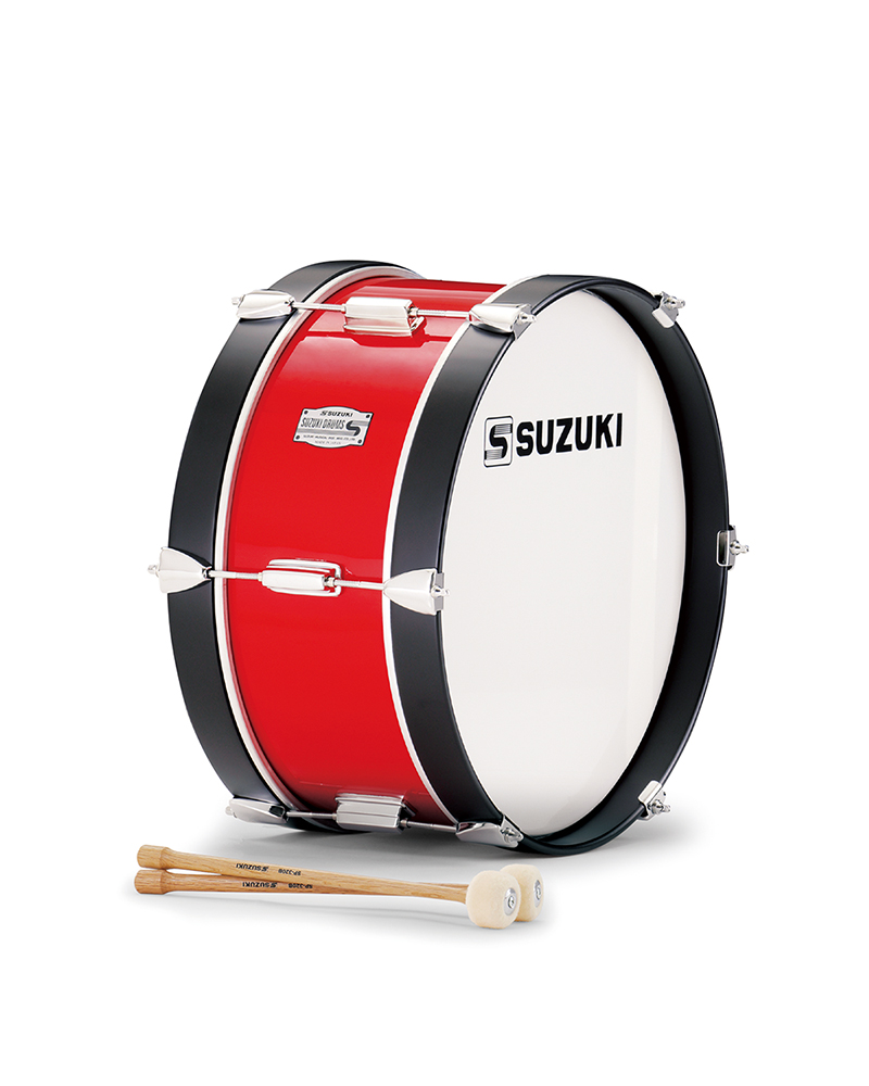 【送料無料】SUZUKI 《スズキ》 マーチングドラム(木胴) バス SKB-16C [鈴木楽器販売][SKB16C]
