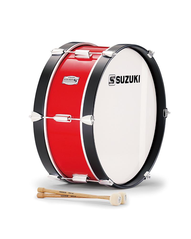 【送料無料】SUZUKI 《スズキ》 マーチングドラム(木胴) バス SKB-18C [鈴木楽器販売][SKB18C]