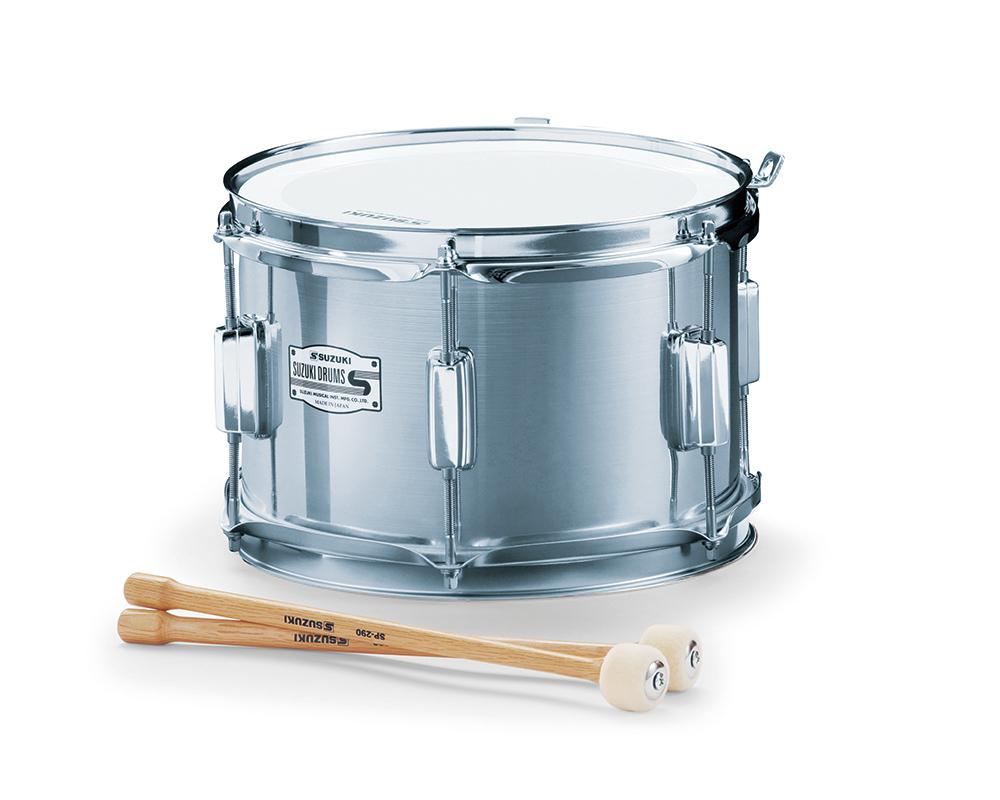 SUZUKI 《スズキ》 マーチングドラム(アルミ胴) テナー SMT-10C [鈴木楽器販売][SMT10C]