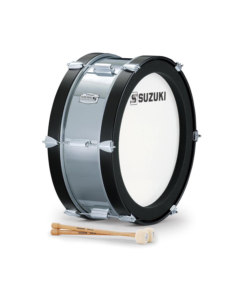 SUZUKI 《スズキ》 マーチングドラム(アルミ胴) バス SMB-18C [鈴木楽器販売][SMB18C]