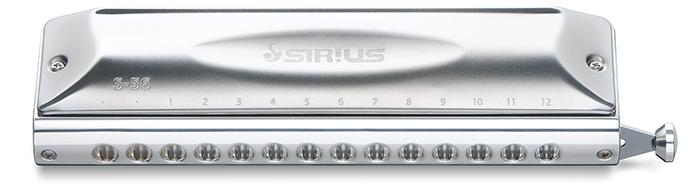 【送料無料】SUZUKI スズキ S-56S 鈴木楽器] Sirius/シリウス クロマチックハーモニカ スズキ 14穴 S-56S [S56S 鈴木楽器], うまめの木:b0bbb5c9 --- officewill.xsrv.jp