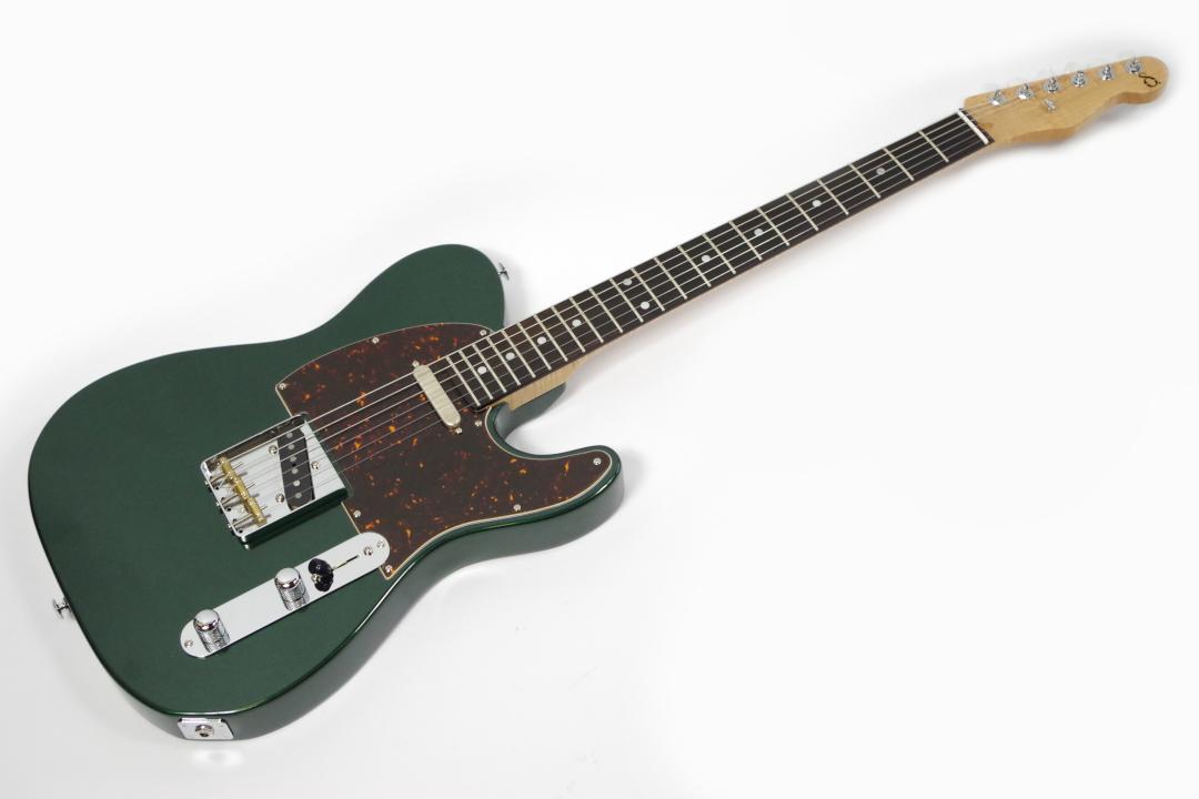 【中古】Black Smoker ブラックスモーカー DELTA Brazilian Rosewood / Old Green Metalic エレキギター【USED】