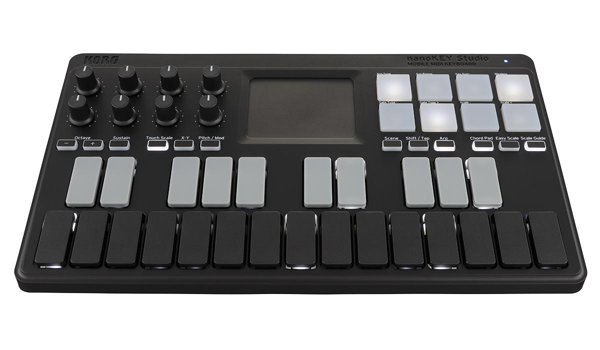 KORG《코르그》nanoKEY Studio MOBILE MIDI KEYBOARD 모바일 MIDI 키보드