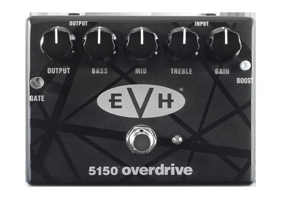 【送料無料】 MXR 《エムエックスアール》 EVH5150™ Overdrive エフェクター(オーバードライブ)