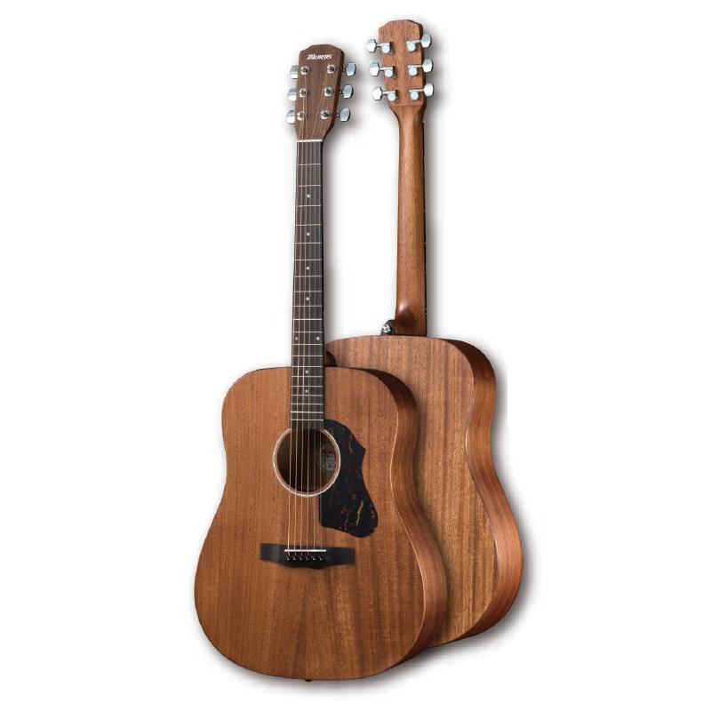 【即納可能!】【送料無料】Morris モーリス M-021 MH Performers Edition マホガニートップ アコースティックギター [M021MH]