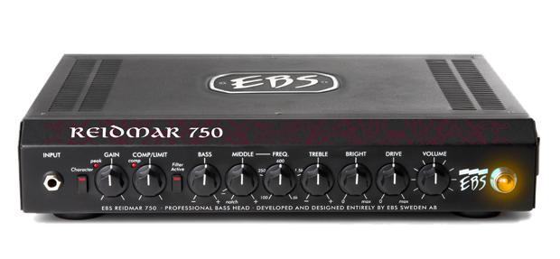 【送料無料】EBS イービーエス Reidmar 750 Lightweight 700 W RMS Bass Amp ベースアンプ(ヘッド)