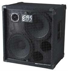 【送料無料】EBS イービーエス NeoLine 212 Neodymium Speaker Cabinet 12×2/Tweeter/600wRMS ベースアンプ用スピーカーキャビネット