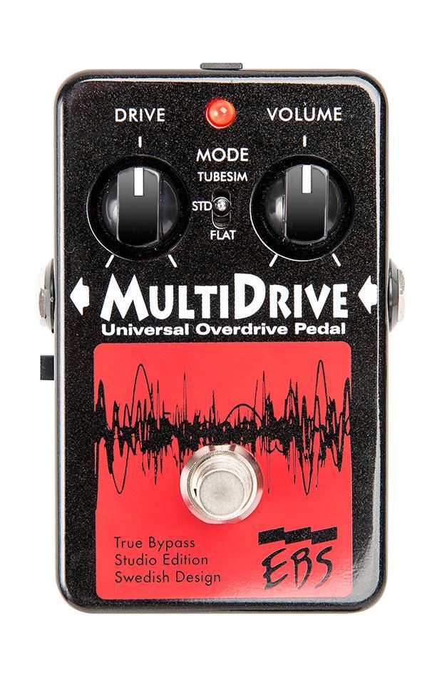 【送料無料】EBS イービーエス MultiDrive Studio Edition ベース用エフェクター(オーバードライブ)