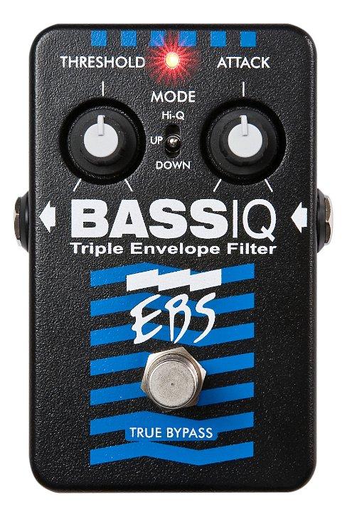 【送料無料】EBS イービーエス BassIQ ベース用エフェクター(アナログエンベロープフィルター)