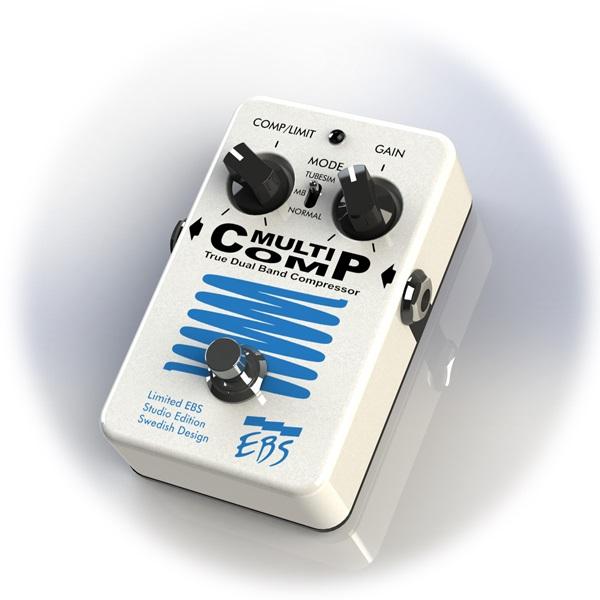 【送料無料】EBS イービーエス Multi Comp 30th Anniversary Limited Pearl White Edition ベース用エフェクター(コンプレッサー)