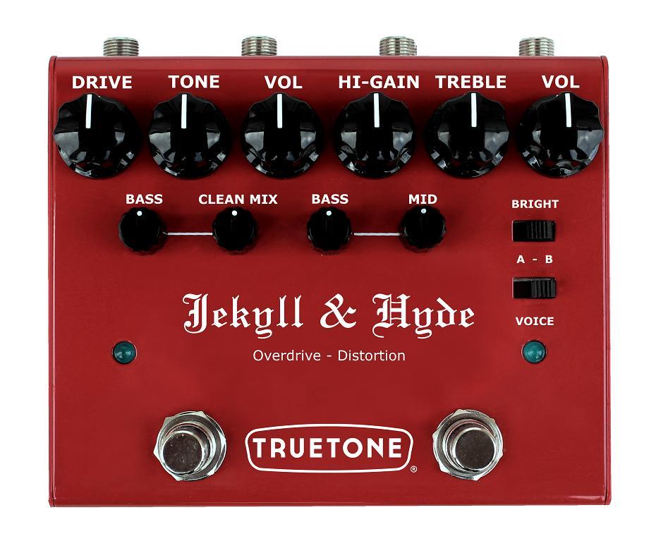 【送料無料】TRUE TONE 《トゥルートーン》V3 Jekyll & Hyde オーバードライブ + ディストーション エフェクター