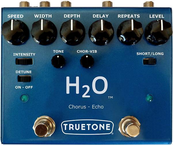【送料無料】TRUE TONE 《トゥルートーン》V3 H2O ハイブリッドエコー+フルアナログステレオコーラス エフェクター