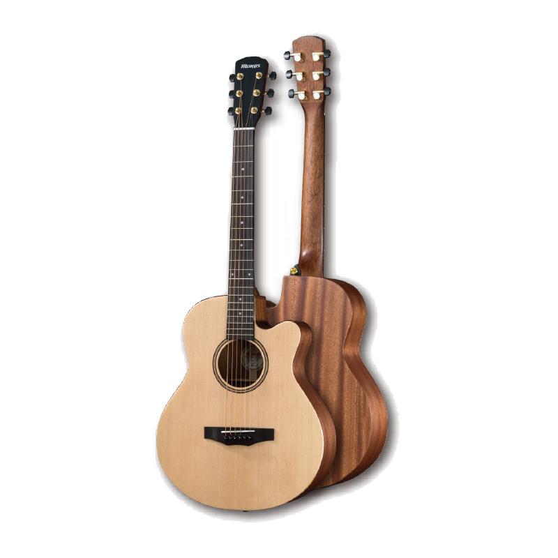 【送料無料】Morris モーリス SA-021 NAT Performers Edition ショートスケール アコースティックギター [SA021]