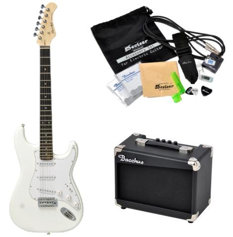 【即納可能&送料無料】Bacchus 《バッカス》 Universe Series BST-1R SW ギターアンプ・小物セット付きスターターセット エレキギター [BST1R]