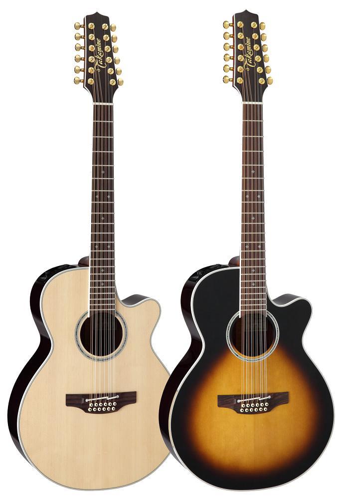 【送料無料】Takamine 《タカミネ》 PTU141C-12 12弦アコースティックギター(エレアコ) [PTU-141C-12]