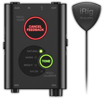 【送料無料】IK Multimedia 《アイケー・マルチメディア》 iRig Acoustic Stage アコースティックギター用マイクシステム [アイリグ]
