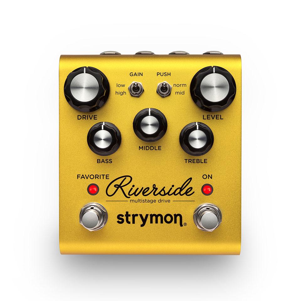 【送料無料】strymon ストライモン Riverside Multistage Drive リバーサイド エフェクター(オーバードライブ)