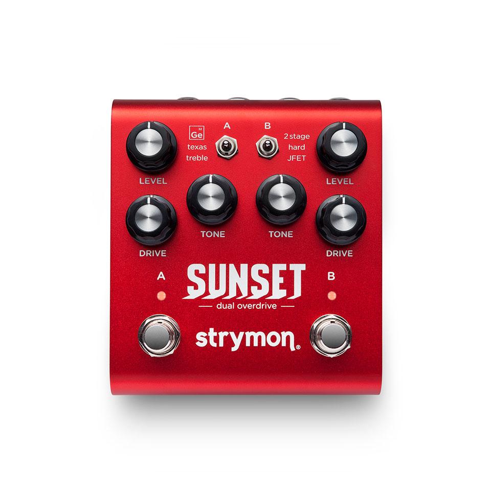 【送料無料】strymon ストライモン Sunset Dual Overdrive エフェクター(ハイブリット オーバードライブ)