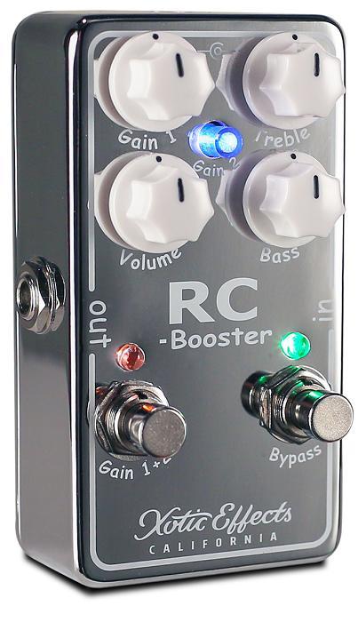 【送料無料】Xotic 《エキゾチック》 RCB-V2 RC Booster V2 エフェクター(ブースター) [RCBV2]