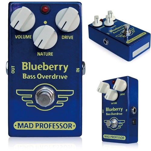 """MAD PROFESSOR """"mad Professor"""" New series Blueberry Bass Overdrive for bass effects (Overdrive)"""