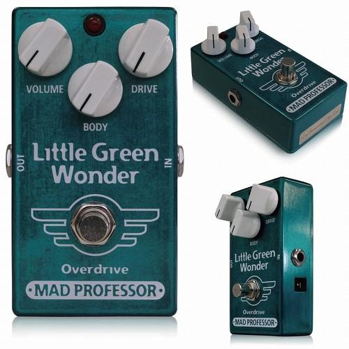 MAD PROFESSOR 《マッドプロフェッサー》 Newシリーズ Little Green Wonder エフェクター(オーバードライブ)