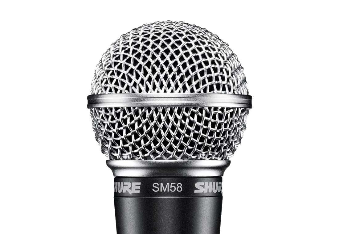 SHURE 슈아 SM58-LCE 보컬용 마이크로폰[SM58LCE]