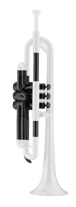 pInstruments pTrumpet (ピー・トランペット) White プラスチック製B♭トランペット