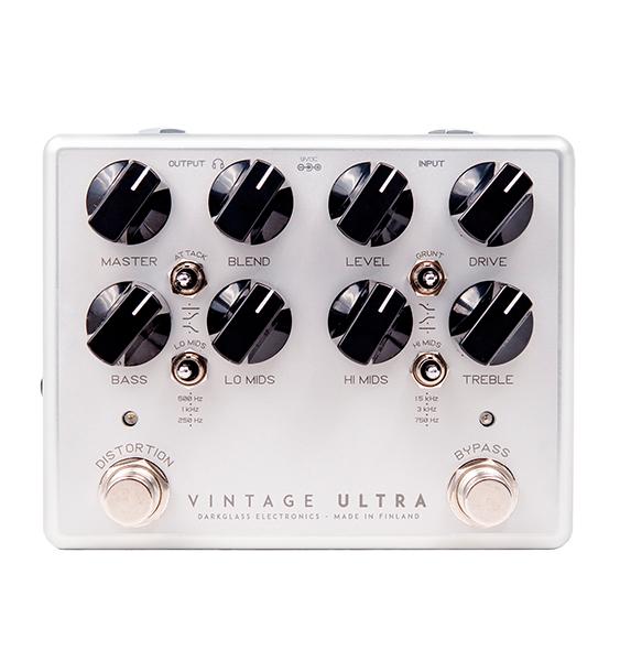 【送料無料&即納可能!】Darkglass Electronics Vintage Ultra v2 with Aux In ベース用プリアンプ