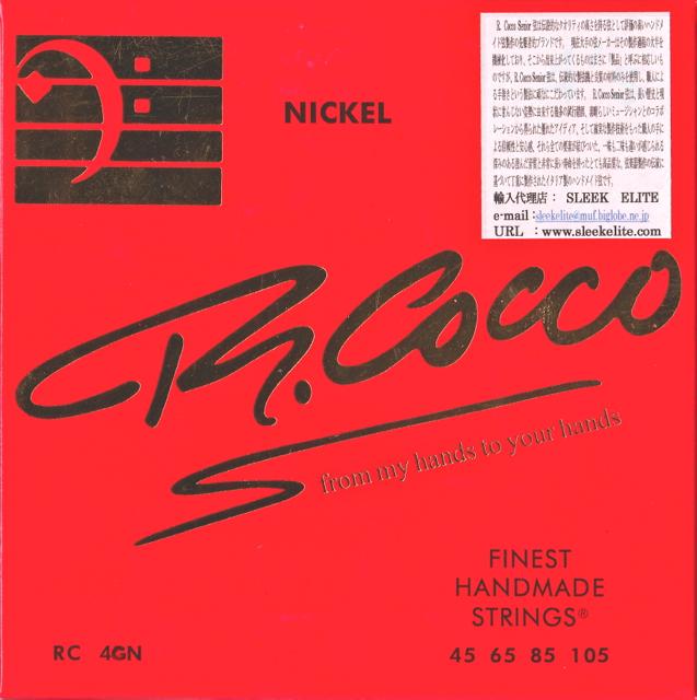 【リチャードココ RC 4 GN 45 65 85 105 ベース弦】 【メール便可!】R.COCCO STRINGS リチャードココ [RC 4 GN] (45-105) SENIOR ELECTRIC BASS STRINGS 45 65 85 105 ベース弦