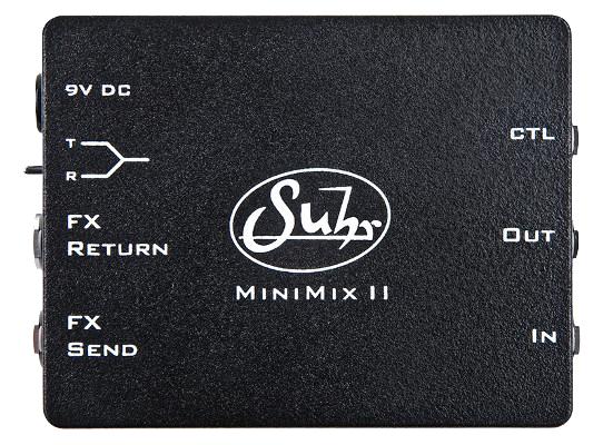 【送料無料】Suhr サー MINIMIX II エフェクター(ラインセレクター)