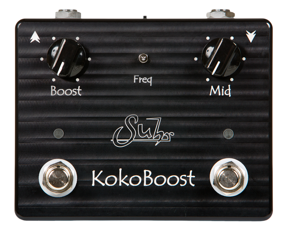 【送料無料】Suhr サー Koko Boost エフェクター(ブースター)
