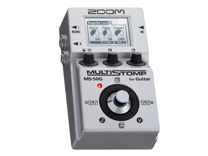 送料無料 大決算セール ZOOM ズーム ☆最安値に挑戦 MS-50G マルチエフェクター エフェクター