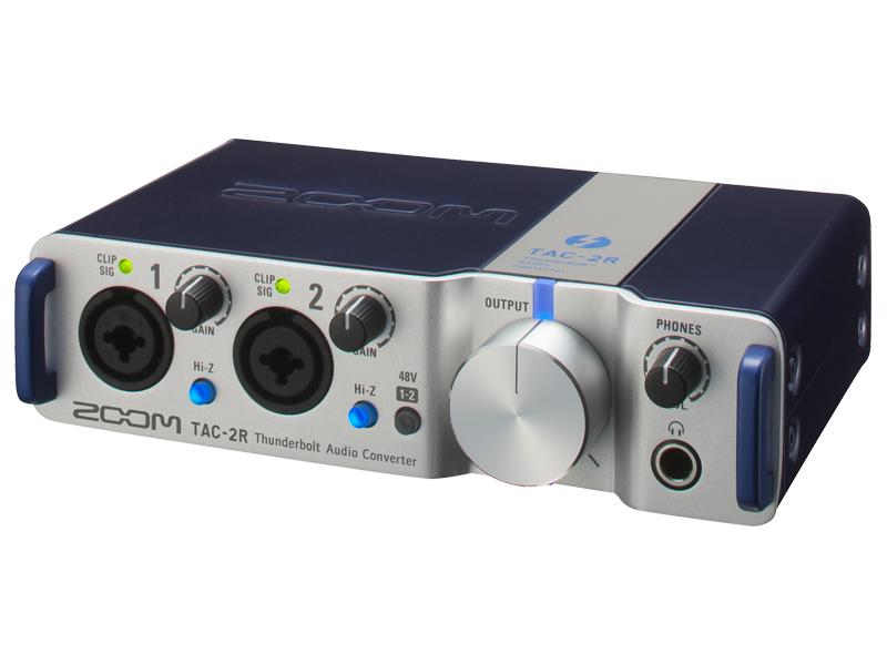 【送料無料】 ZOOM 《ズーム》 TAC-2R サンダーボルト・オーディオ・コンバーター [TAC2R]