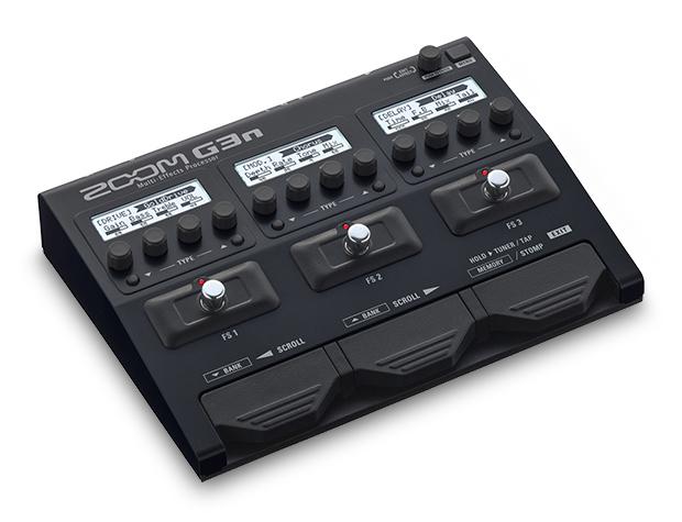 【送料無料】ZOOM 《ズーム》 G3n Multi-Effects Processor エフェクター(マルチエフェクター)