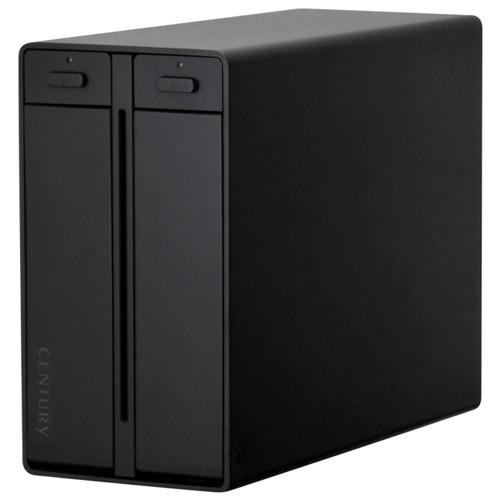 《送料無料》裸族のテラスハウス RAID USB3.1 Type-C CENTURY/センチュリー/ハードディスクケース[CRTS35U31C]
