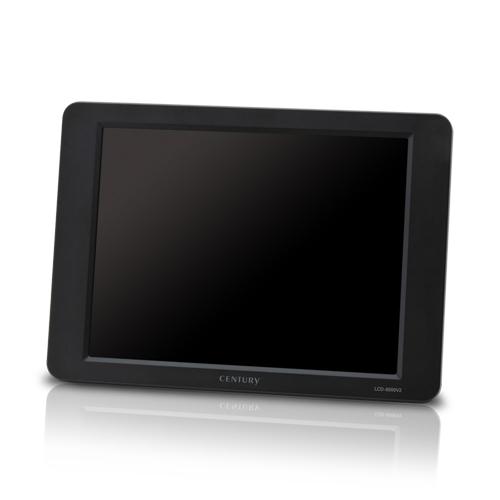《送料無料》8インチ plus one VGA ブラックモデル [LCD-8000V2B] CENTURY/センチュリー