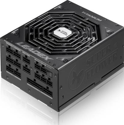 《送料無料》スーパーフラワー電源ユニット Leadexシリーズ 1000W 80PLUS Titanium認証 海外パッケージ[SF-1000F14HT/E]
