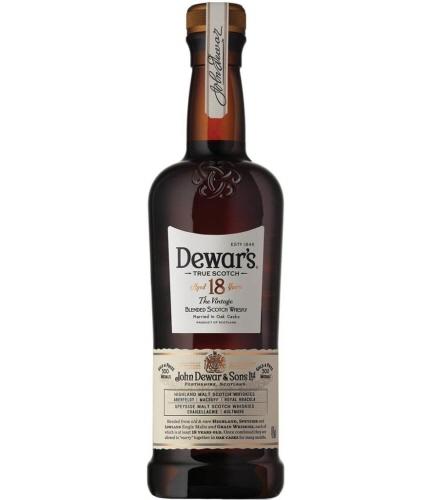 デュワーズ18年750ml