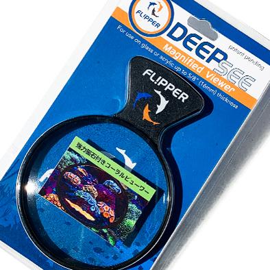 当店オススメ 拡大レンズ Flipper Aquarium チープ Viewer メーカー再生品