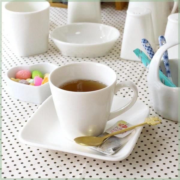 《カップ&ソーサー》清潔感のあるシンプルスタイル♪ CPhome カップ&ソーサー あたたかなクリーム色のニューボン磁器 下皿付き コーヒーカップ 珈琲カップ 業務用 喫茶店 国産 瀬戸焼 訳あり