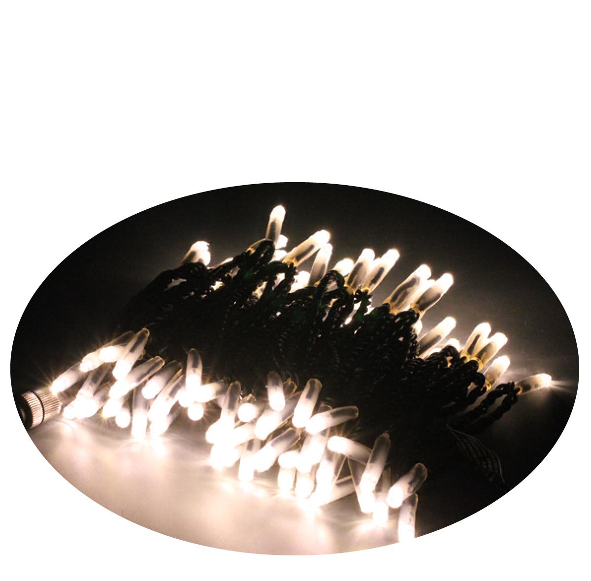 LEDストリングライト常時点灯V4アイボリー