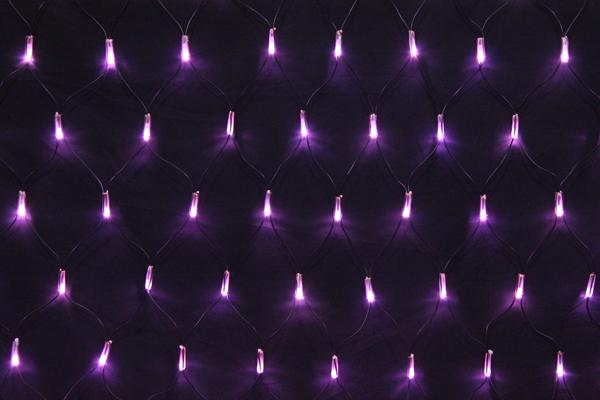 LEDイルミネーションネットライト常時点灯V4 180球ライトピンク高さ:1m幅:2m