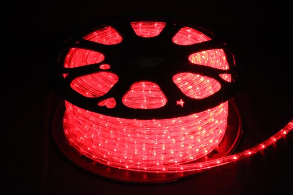 LEDイルミネーションチューブライト10mm*50m1800球レッド