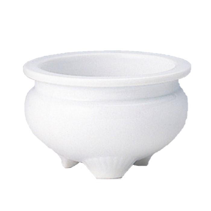 香炉 白 4.5寸 香炉 仏具 佛具 仏壇 供養