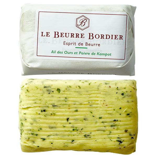 バター ボルディエ フランス フランス産 Bordier バターブール ド 125g 冷蔵 冷凍可 賞味期限:到着後2週間前後 新作販売 プレゼント 葉にんにく バラット